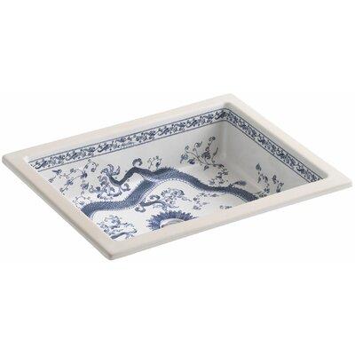 kohler kathryn rectangular undermount bathroom sink | wayfair