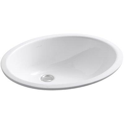 Kohler Caxton Oval Undermount Bathroom Sink With Overflow U0026 Reviews |  Wayfair