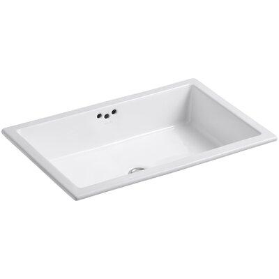 Kohler Kathryn Rectangular Undermount Bathroom Sink With Overflow Reviews Wayfair