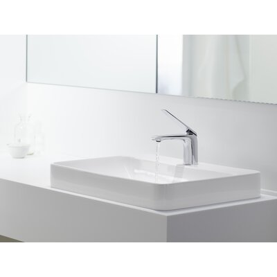 Vox Rectangular Vessel Bathroom Sink By Kohler