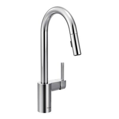 Moen Kitchen Faucets White moen align single handle kitchen faucet & reviews   wayfair