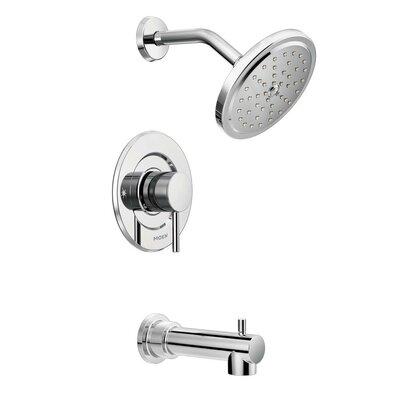 moen align moentrol tub and shower faucet trim with lever handle u0026 reviews wayfair