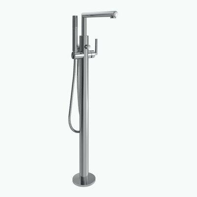Moen Arris Single Handle Floor Mount Tub Filler Trim With Hand Shower U0026  Reviews   Wayfair