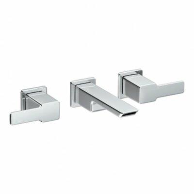 Moen 90 Degree Double Handle Wall Mounted Bathroom Faucet U0026 Reviews |  Wayfair