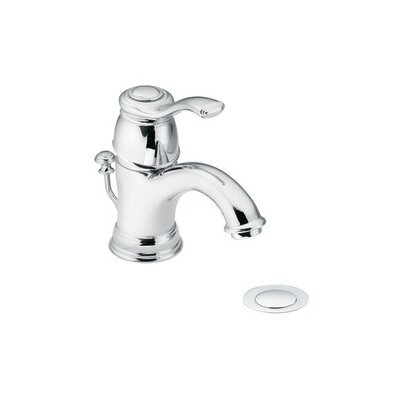 Moen Kingsley Single Hole Bathroom Faucet With Drain Assembly U0026 Reviews |  Wayfair
