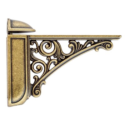 viola deep decorative shelf bracket u0026 reviews wayfair