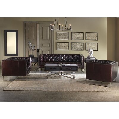 Lazzaro Leather Bordeaux Configurable Living Room Set U0026 Reviews | Wayfair
