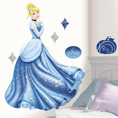 Room Mates Por Characters Disney Princess Cinderella Glamour Giant Wall Decal Reviews Wayfair