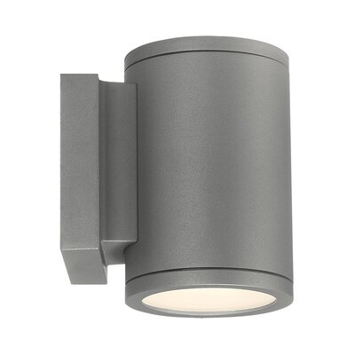 WAC Lighting Tube 2 Light Outdoor Sconce U0026 Reviews | Wayfair