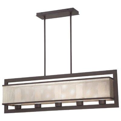 george kovacs mainly mesh 5light kitchen island pendant u0026 reviews wayfair - George Kovacs Lighting