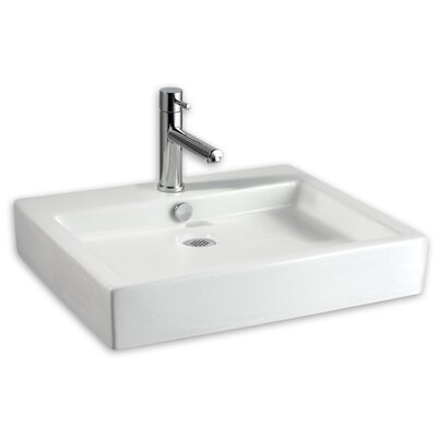 Bathroom Sinks Above Counter american standard studio rectangular vessel bathroom sink with