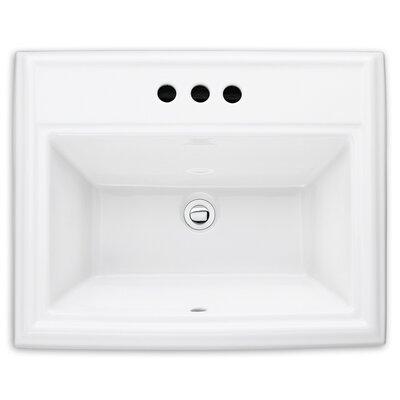 American Standard Town Square Self Rimming Bathroom Sink U0026 Reviews   Wayfair