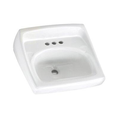 American Standard Lucerne 21 Wall Mount Bathroom Sink With Overflow Reviews Wayfair