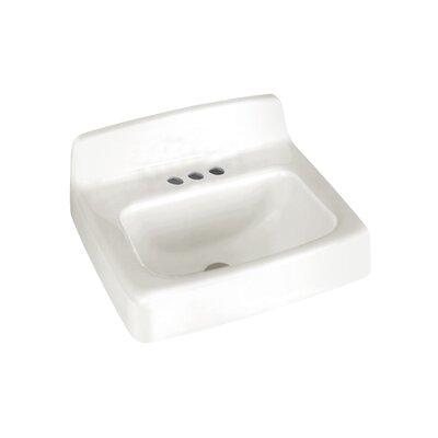 American Standard Regalyn 19 Wall Mount Bathroom Sink With Overflow Reviews Wayfair
