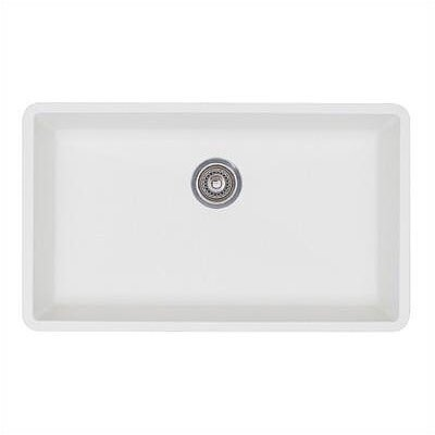 blanco precis 32 x 19 super single bowl kitchen sink reviews wayfair. Interior Design Ideas. Home Design Ideas