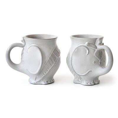 Modern espresso cups mugs allmodern - Jonathan adler elephant mug ...