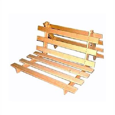 rush furniture charles harris dual position futon frame reviews wayfair - Wooden Futon Frame