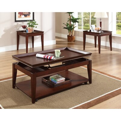 steve silver furniture clemens 3 piece coffee table set & reviews