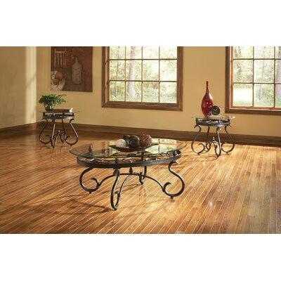 andover mills merrimack 3 piece coffee table set & reviews | wayfair