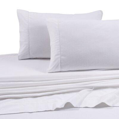 tribeca living flannel solid extra deep pocket sheet set - Tribeca Bedroom Set