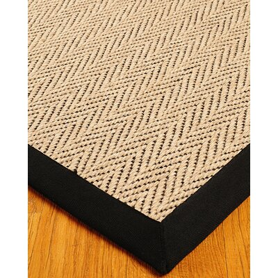 Black Area Rugs natural area rugs jute emerson cream / black area rug & reviews