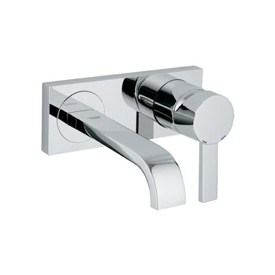 Grohe Allure Single Handle Wall Mounted Bathroom Faucet U0026 Reviews | Wayfair