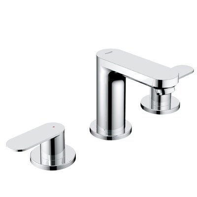 grohe eurosmart double handle widespread bathroom faucet & reviews