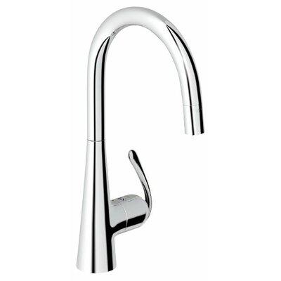 Grohe Ladylux3 Touch Pull Down Single Handle Kitchen Faucet U0026 Reviews |  Wayfair