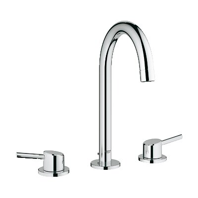 grohe concetto double handle widespread bathroom faucet & reviews