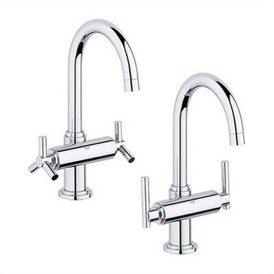 grohe atrio single hole bathroom faucet less handles u0026 reviews wayfair