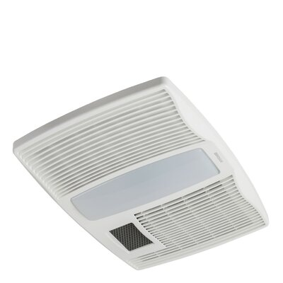 broan ultra silent 110 cfm bathroom fan with heater and light