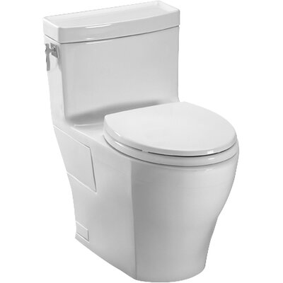 Toto Aimes High Efficiency 128 GPF Elongated One Piece Toilet Reviews