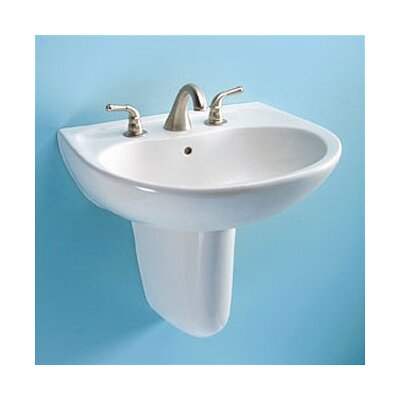"toto supreme 23"" wall mount bathroom sink & reviews 