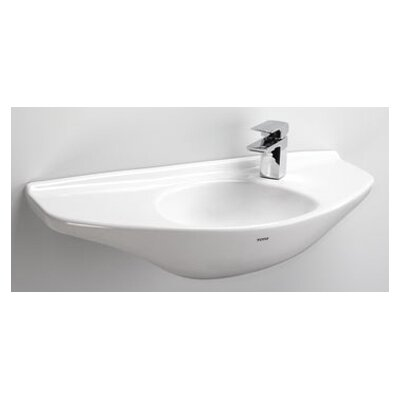 "Bathroom Sinks That Mount On The Wall toto 30"" wall mount bathroom sink & reviews 