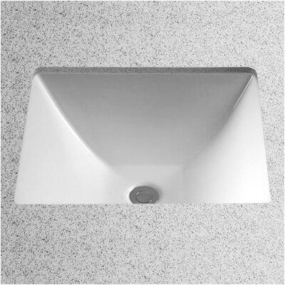 Toto Legato Vitreous China Rectangular Undermount Bathroom Sink With - Under counter bathroom sinks