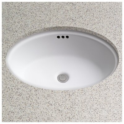 Toto Dartmouth Oval Undermount Bathroom Sink with Overflow   Reviews    Wayfair. Toto Dartmouth Oval Undermount Bathroom Sink with Overflow