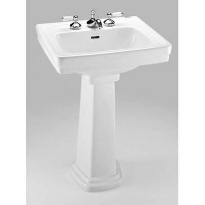 american standard pedestal sink with towel bar promenade bathroom overflow marina installation retrospect