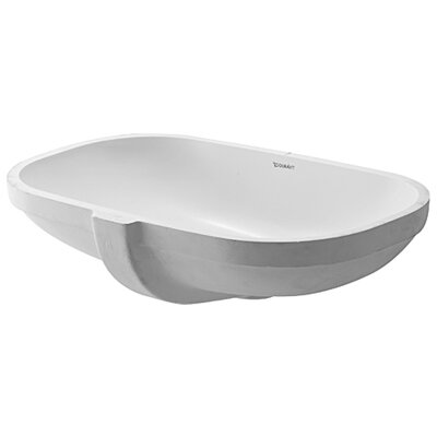 Oval Undermount Bathroom Sinks