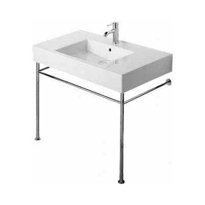 Vero 34 Console Bathroom Sink With Overflow