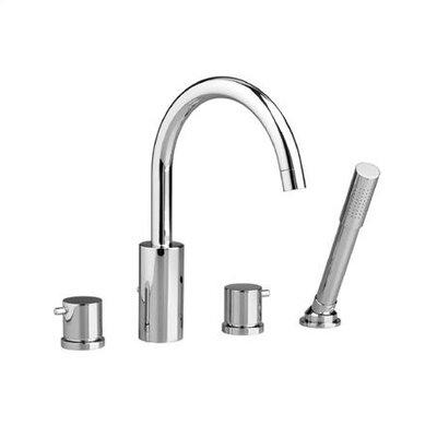 jado borma diverter roman tub faucet with hand shower u0026 reviews wayfair - Roman Tub Faucets