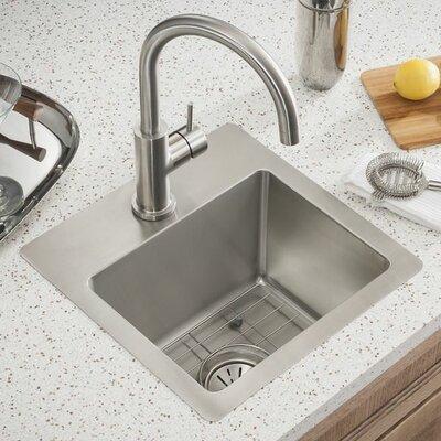 elkay crosstown 15 x 15 undermount kitchen sink reviews wayfair. Interior Design Ideas. Home Design Ideas