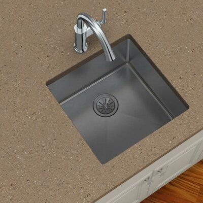 Elkay Crosstown 18 5 X 18 5 Undermount Kitchen Sink Reviews Wayfair