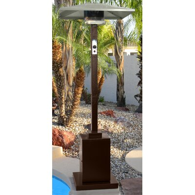AZ Patio Heaters Tall Commercial 38,000 BTU Propane Patio Heater U0026 Reviews  | Wayfair