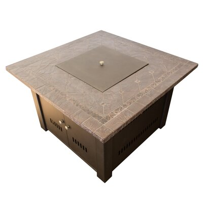 AZ Patio Heaters Faux Stone Propane Fire Pit Table U0026 Reviews | Wayfair