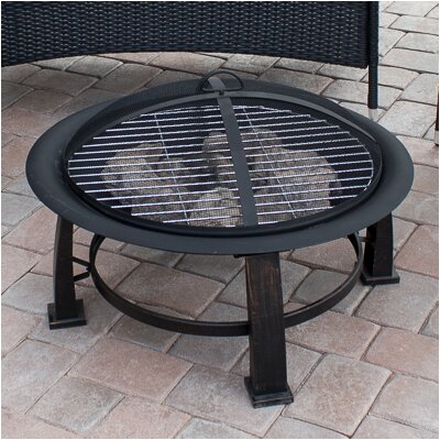 AZ Patio Heaters Wood Burning Fire Pit U0026 Reviews | Wayfair