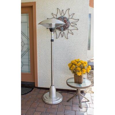 az patio heaters adjustable watt electric patio heater u0026 reviews wayfair - Az Patio Heaters