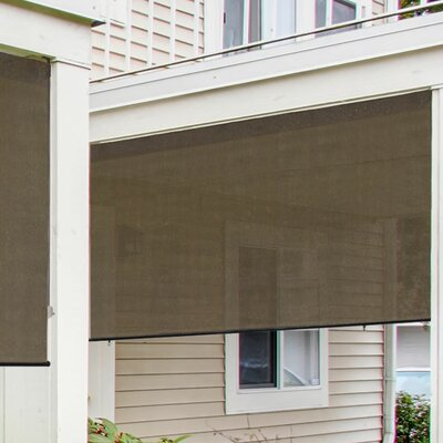 Radiance Exterior Solar Shade 8 Ft. W X 6 Ft. D Retractable Side Awning U0026  Reviews | Wayfair