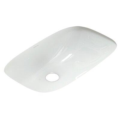 Sterling By Kohler Stinson Rectangular Undermount Bathroom Sink With Overflow Reviews Wayfair