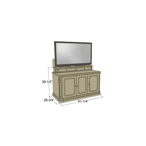Banyan Creek Tv Lift Cabinet | Bar Cabinet
