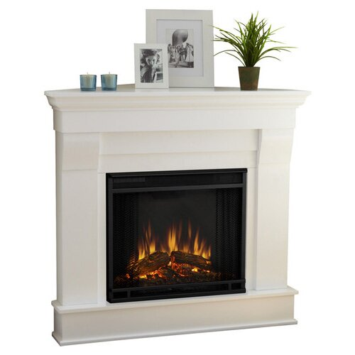 Real Flame Chateau Corner Electric Fireplace - Real Flame Chateau Corner Electric Fireplace & Reviews Wayfair